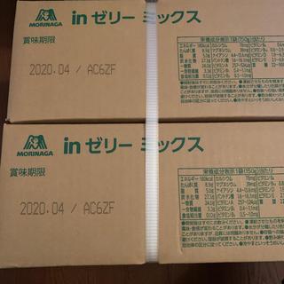 モリナガセイカ(森永製菓)の激安 森永製菓 inゼリー ミックス 新品 36個(ソフトドリンク)