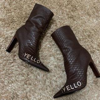 イエローブーツ(Yellow boots)の【美品】【即納】YELLO WOOLONG SHORT XL(ブーツ)