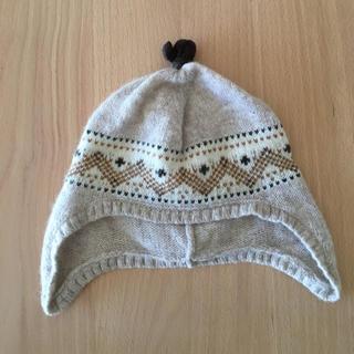 プチバトー(PETIT BATEAU)のプチバトー ベビーニット帽(帽子)