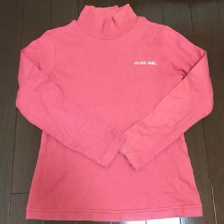 オリーブデオリーブ(OLIVEdesOLIVE)のオリーブガール 子供服 タートルネック 襟付きシャツ(Tシャツ/カットソー)
