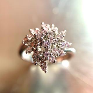 hanahana様 専用です!「天然ピンクダイヤモンド」プラチナリング!(リング(指輪))