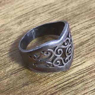 唐草模様のシルバー925 リング 送料無料(リング(指輪))