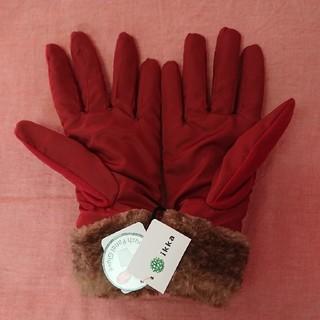 イッカ(ikka)の【新品未使用】イッカ ikka スマホ対応 手袋(手袋)