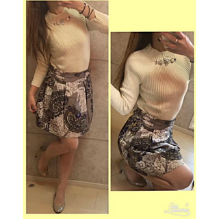 マカフィー(MACPHEE)のマカフィー未使用スカート  (ミニスカート)