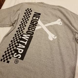 ネイバーフッド(NEIGHBORHOOD)のWTAPS×NEIGHBORHOOD グレー Lサイズ 新品(Tシャツ/カットソー(半袖/袖なし))