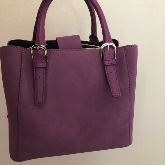 OPAQUE(オペーク)のハンドバック ショルダーバッグ 紫 レディースのバッグ(ショルダーバッグ)の商品写真