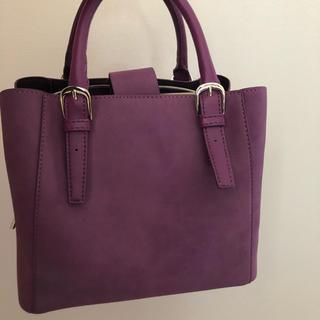 OPAQUE - ハンドバック ショルダーバッグ 紫
