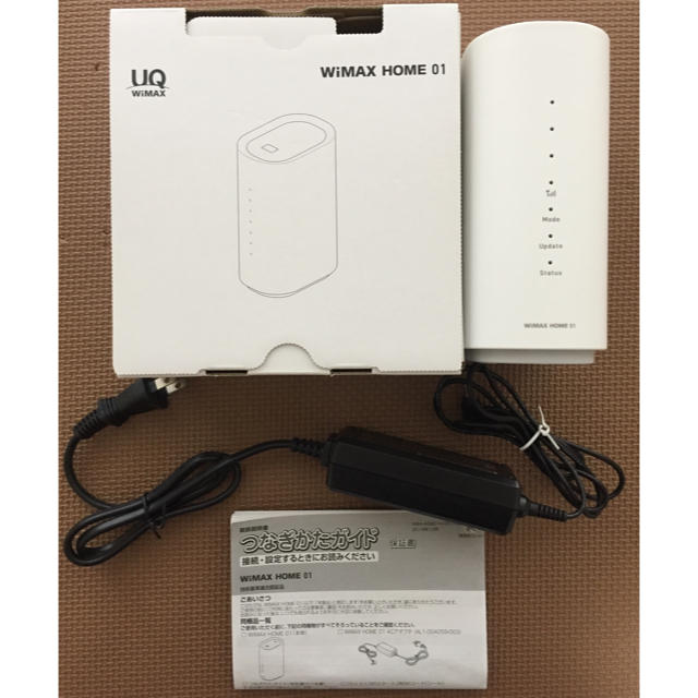 NEC(エヌイーシー)のWiMAX HOME 01 スマホ/家電/カメラのPC/タブレット(PC周辺機器)の商品写真