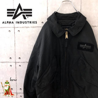 アルファ(alpha)のアルファ 中綿入り フライトジャケット(フライトジャケット)