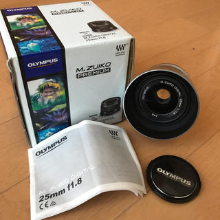 オリンパス(OLYMPUS)のOLYMPUS M.ZUIKO DIGITAL 25mm F1.8 (シルバー)(レンズ(単焦点))
