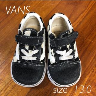 VANS - VANS スニーカー 13.0cm ブラック