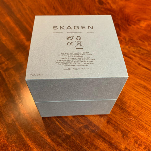 SKAGEN(スカーゲン)のハイブリットスマートウォッチ レディースのファッション小物(腕時計)の商品写真