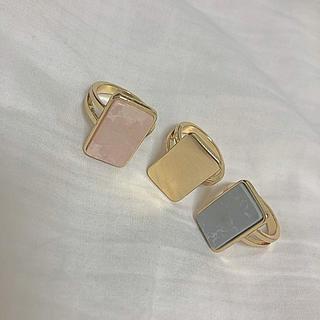 フォーエバートゥエンティーワン(FOREVER 21)の大理石指輪セット(リング(指輪))