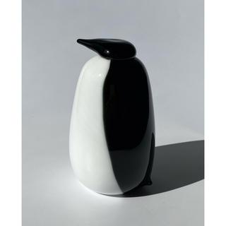 イッタラ(iittala)のペンギン Ping 2009 オイバ・トイッカ バード イッタラ(置物)