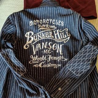 バンソン(VANSON)の VANSONバイカーシャツ 値下げしました(ライダースジャケット)