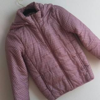 GU - GU ダウンジャケット コート 軽量 ピンク  キッズ レディース小柄