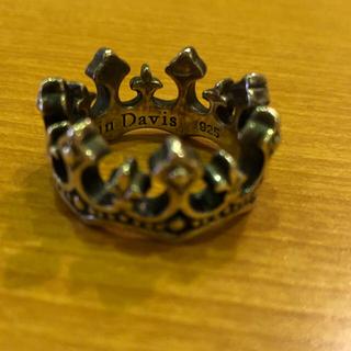 ジャスティンデイビス(Justin Davis)の美品★ジャスティンデイビス パレス クラウン 18号 SV925(リング(指輪))