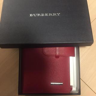 バーバリー(BURBERRY)のバーバリーシステム手帳 新品(手帳)