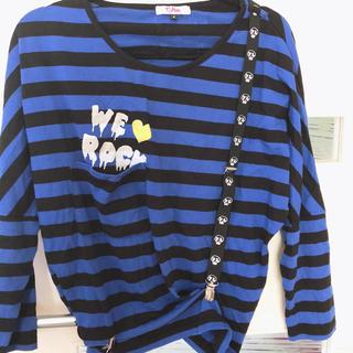 ピンクラテ(PINK-latte)のピンクラテ  サスペンダー付き長袖シャツ(Tシャツ(長袖/七分))