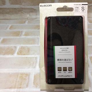 エレコム(ELECOM)の機種を選ばない 汎用 ブラック 手帳型(Androidケース)