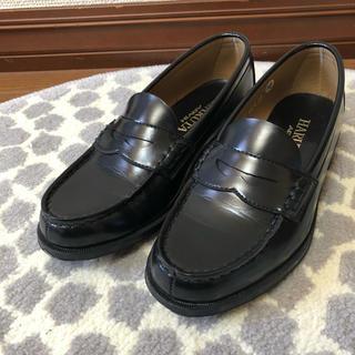 ハルタ(HARUTA)のHARUTA ハルタ 学生 ローファー 黒(ローファー/革靴)