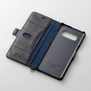 Galaxy Note8用ソフトレザーカバー/磁石付