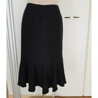 ルーニィ(LOUNIE)のフレアスカート ドット柄(ひざ丈スカート)