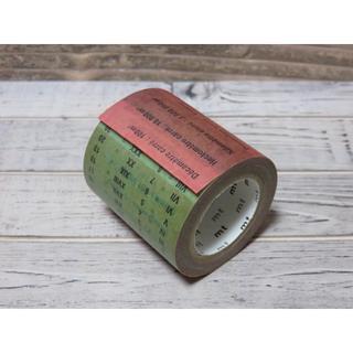 エムティー(mt)のmt ex 広島展 「単位」 限定マステ 新品、未使用(テープ/マスキングテープ)