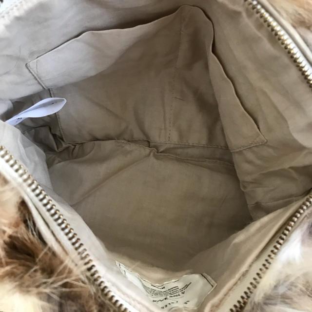 Ungrid(アングリッド)のUngrid リアルファーバッグ レディースのバッグ(クラッチバッグ)の商品写真