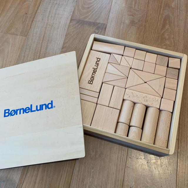 BorneLund(ボーネルンド)の✯くま様専用✯      ボーネルンド✯積木✯s✯美品 キッズ/ベビー/マタニティのおもちゃ(積み木/ブロック)の商品写真