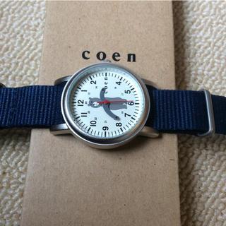 コーエン(coen)の【ほぼ新品】かわいいくまさん時計(腕時計)
