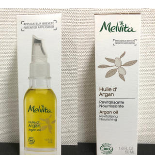 メルヴィータ(Melvita)の2020年1月購入 新品 メルヴィータ アルガンオイル 50ml  スキンオイル(フェイスオイル/バーム)