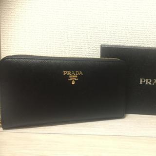 プラダ(PRADA)のPRADA プラダ長財布 黒(財布)
