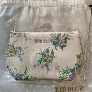 キッドブルー(KID BLUE)の新品 キッドブルー クレマチスガーデン ポーチ(ポーチ)