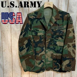 アルファインダストリーズ(ALPHA INDUSTRIES)の希少 m-65 フィールドジャケット ミリタリージャケット 迷彩 US ARMY(ミリタリージャケット)