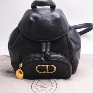 クリスチャンディオール(Christian Dior)のChristian Dior ヴィンテージ リュック ロゴプレート バックパック(リュック/バックパック)