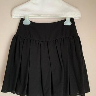 レッドヴァレンティノ(RED VALENTINO)のレッドバレンティノ  ブラック ミニスカート(ミニスカート)