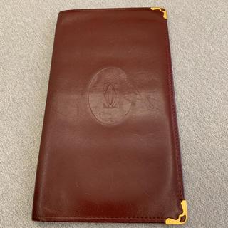 カルティエ(Cartier)のCartier  カルティエ 長財布&カードケース ボルドー(長財布)