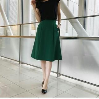 エムプルミエ(M-premier)のエムプルミエ  グリーン  スカート  32P(ひざ丈スカート)