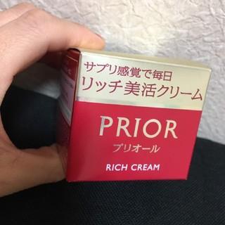プリオール(PRIOR)のプリオール  リッチ美活クリーム(フェイスクリーム)