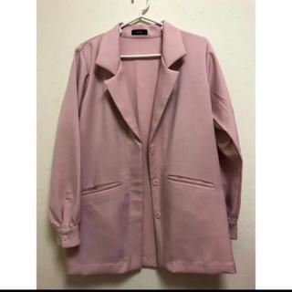 エモダ(EMODA)のEMODA ピンクジャケット(テーラードジャケット)
