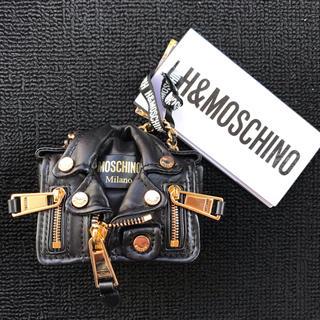 モスキーノ(MOSCHINO)のH&Moschino ライダースショルダーバッグ(ショルダーバッグ)