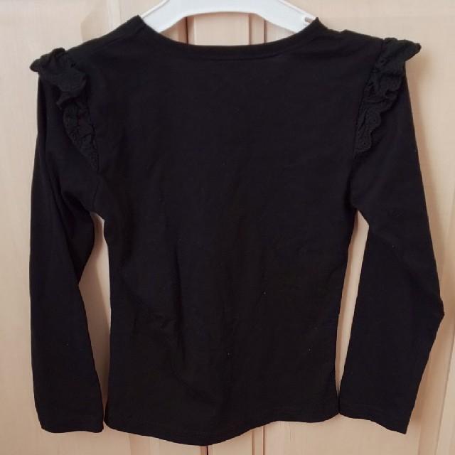 西松屋(ニシマツヤ)の長袖シャツ キッズ/ベビー/マタニティのキッズ服女の子用(90cm~)(Tシャツ/カットソー)の商品写真