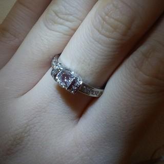 K18ダイヤリング プラチナリング ティファニーが好きな方 プラチナ(リング(指輪))