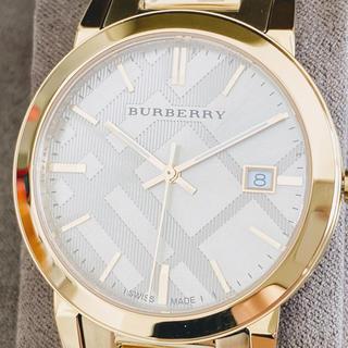 BURBERRY - ◆超激レア◆海外限定【新品!箱付】BURBERRY バーバリー オールゴールド