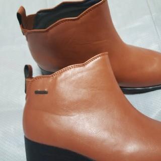 パンジーレインブーツ  24,5  晴雨兼用(レインブーツ/長靴)