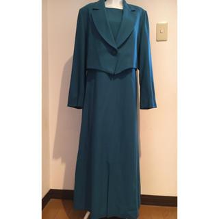 ワンピーススーツ 結婚式 入学式 卒業式 13号(スーツ)
