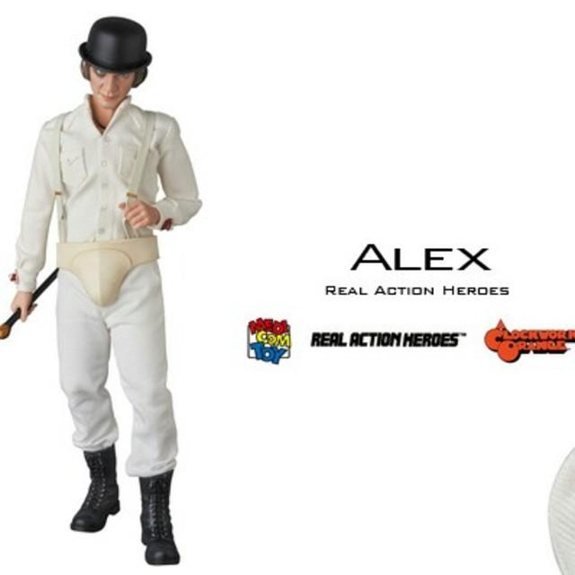 アルバイト マスク | UNDERCOVER - 時計じかけのオレンジ アレックス フィギュアの通販