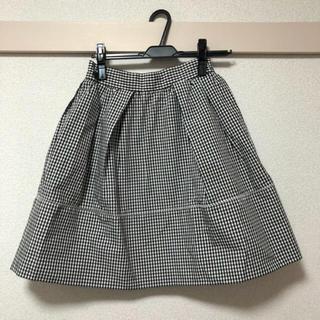 スナイデル(snidel)の最終値下げ!snidel ギンガムチェック スカート(ミニスカート)
