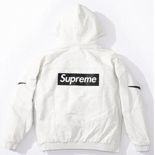Supreme - シュプリーム Supreme Nike Leather Anorak S 白
